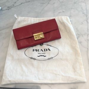 Authentic Prada Wallet - Price is firm